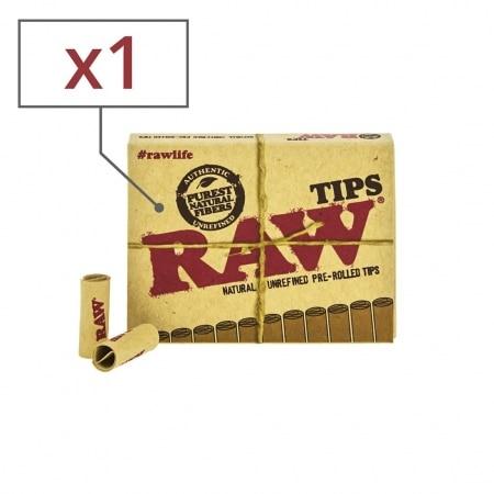 Filtre carton Raw pré-roulé x 1