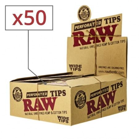 Filtres en Carton Raw Wide x50