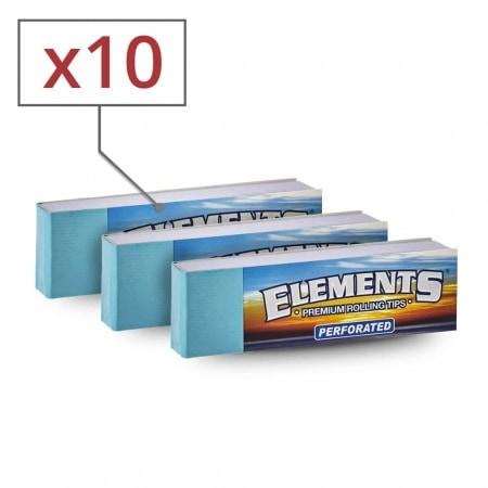 Filtres en carton Elements perforés x 10