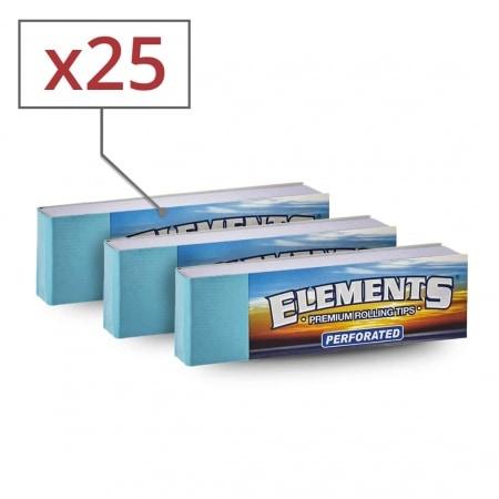 Filtres en carton Elements perforés x 25