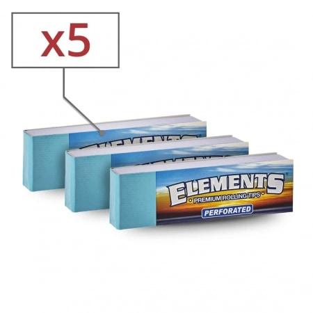 Filtres en carton Elements perforés x  5