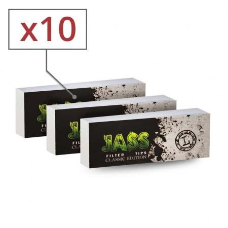 Filtres en Carton Jass Large x 10