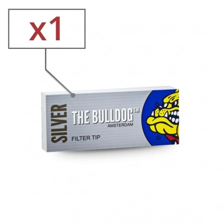 Filtres en carton The Bulldog perforés x 1