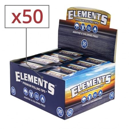 Filtres en carton Elements x 50