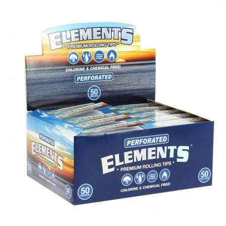 Filtres en carton Elements perforés x 50