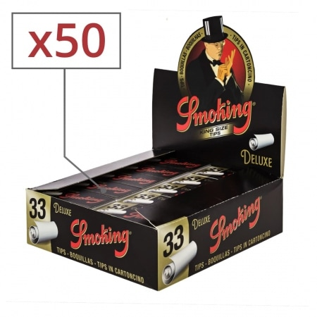 Filtres en carton Smoking Larges x 50