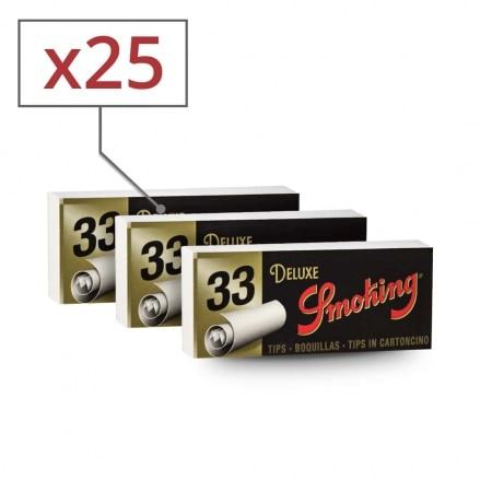 Filtres en carton Smoking Larges x 25