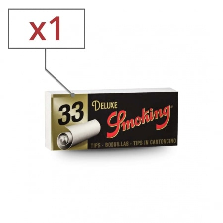 Filtres en carton Smoking Larges x 1