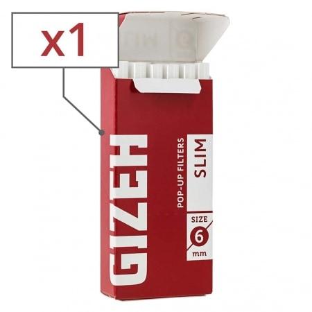 Filtres Gizeh Slim 6 mm en sticks x 1