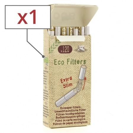 Filtres OCB Chanvre Bio Extra Slim en stick x1