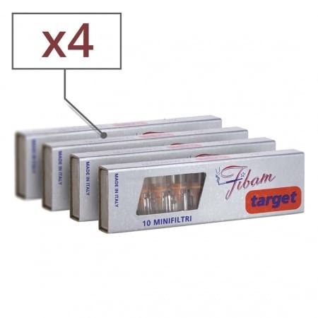 Filtres Fibam Target x 4 boites