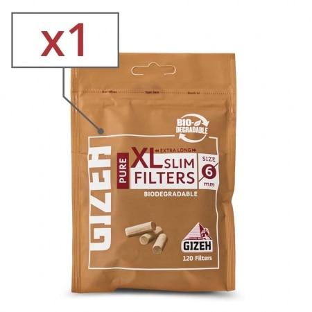 Filtres Gizeh Pure XL Slim x 1