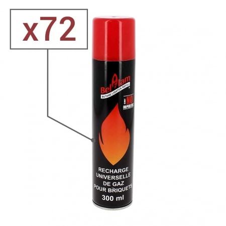 Gaz 300 ml Belflam zero impureté x 72