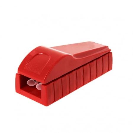 Machine à tuber double rouge