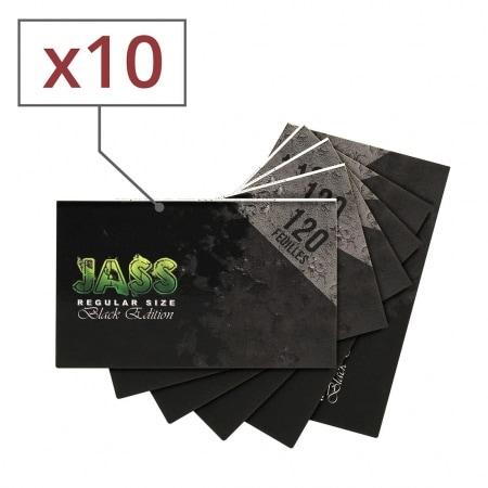 Papier a rouler Jass Black Edition x 10