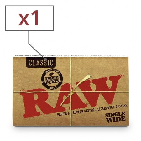 Papier à rouler Raw Regular x 1
