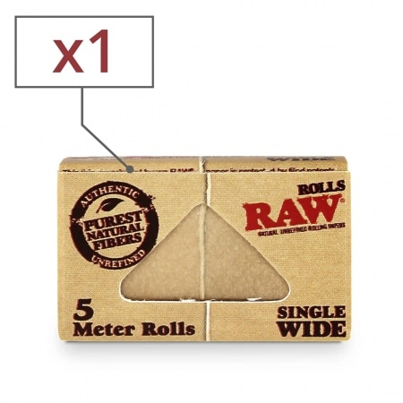 Papier a rouler Raw Rolls Regular x 1