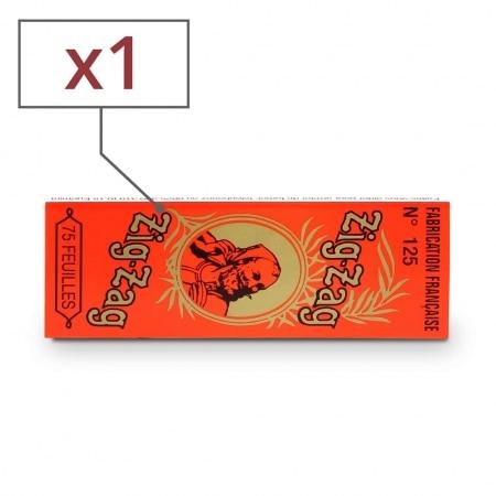 Papier à rouler Zig Zag Orange x 1