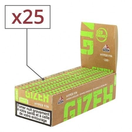 Papier à rouler Gizeh Pure Hyper Fin x 25