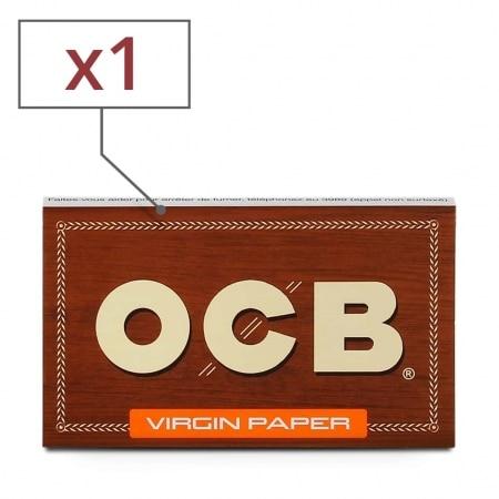 Papier à rouler OCB Virgin x 1
