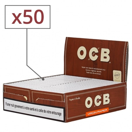 Papier à rouler OCB Virgin x 50