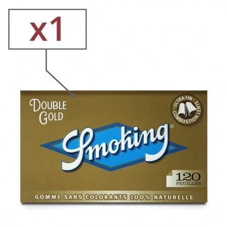 Papier à rouler Smoking Regular Doré x 1