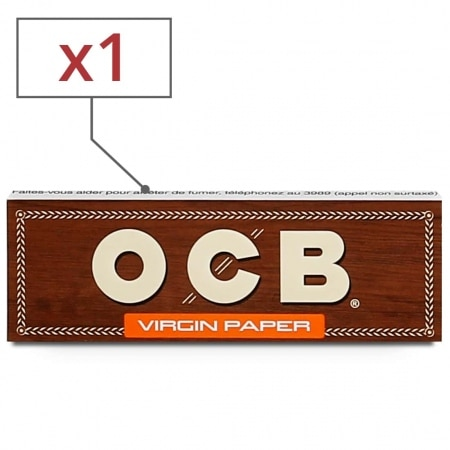 Papier a rouler OCB Virgin 1 1/4 x 1