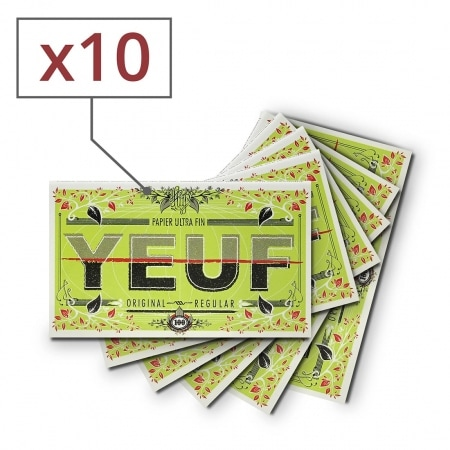 Papier à rouler Yeuf Original Régular x 10
