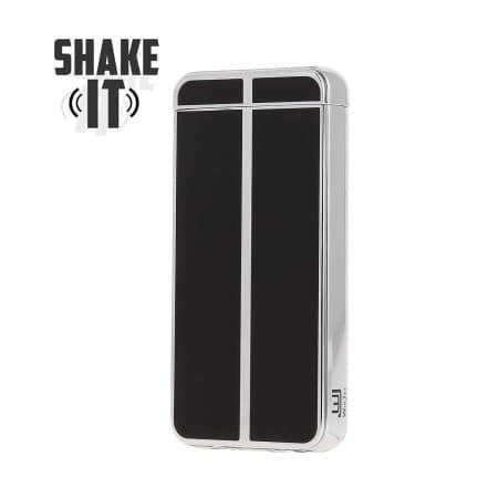Briquet Electrique Shake Noir