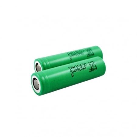 Batterie Samsung e cigarette INR 18650 2500 mAh x2