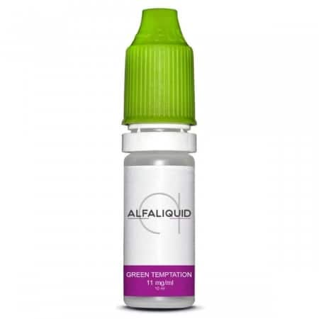 La Bonne Affaire - Eliquide Alfaliquid Green Temptation 11mg