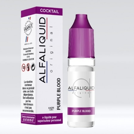 Eliquide Alfaliquid Purple Blood