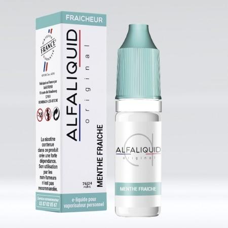 Eliquide Alfaliquid Menthe fraiche