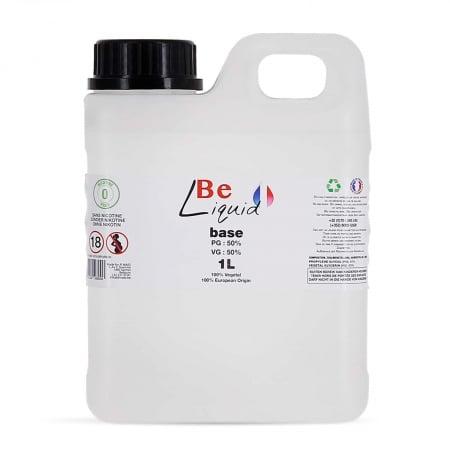 Base e liquide Be Liquid DIY 1L PG/VG 50/50