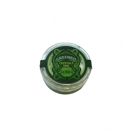 CBD Cristaux Greeneo 1000mg