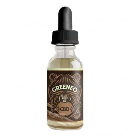 CBD E liquide Greeneo Blunt Puff 50mg