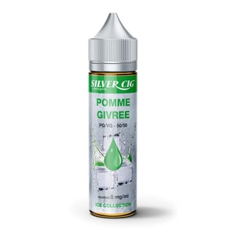 E liquide SilverCig Pomme Givrée 0 mg 50 ml