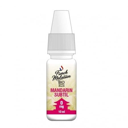 E liquide Bio France French Malaisien Mandarin Subtil