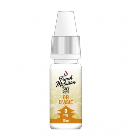 E liquide Bio France French Malaisien Or d'Asie