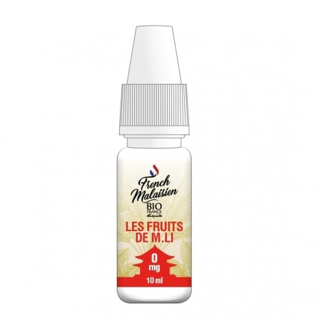 E liquide Bio France French Malaisien Les Fruits de M. Li