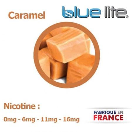 E liquide français Caramel bluelite