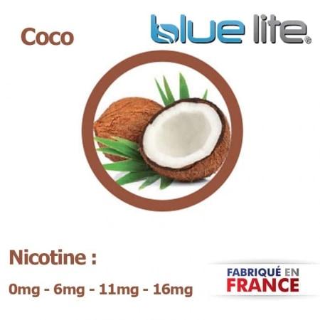 E liquide français Coco bluelite