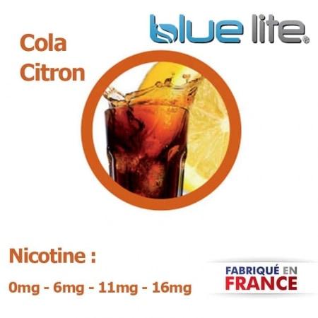 E liquide français Cola Citron bluelite