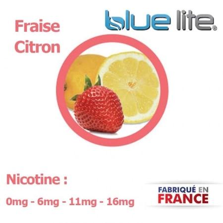 E liquide français Fraise Citron bluelite