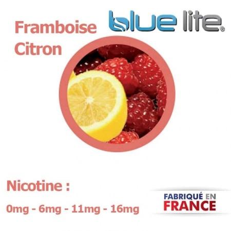 E liquide français Framboise Citron bluelite