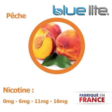 E liquide français Pêche bluelite