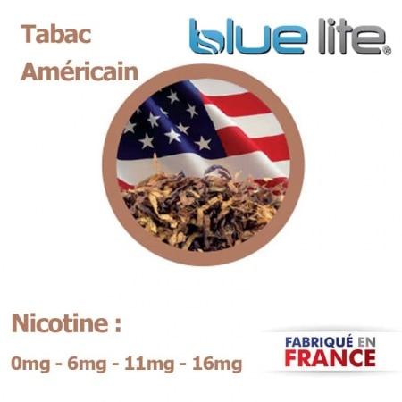 E liquide français Tabac America bluelite