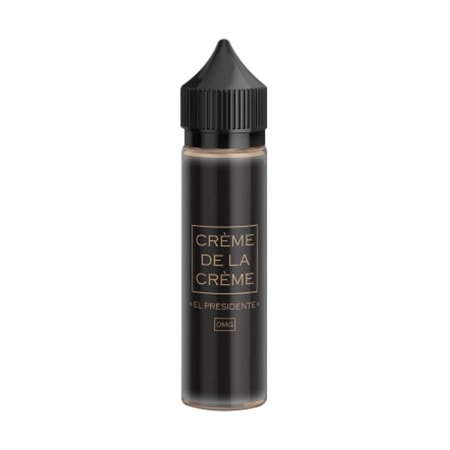 E liquide Crème de la Crème El Presidente 0 mg 50 ml