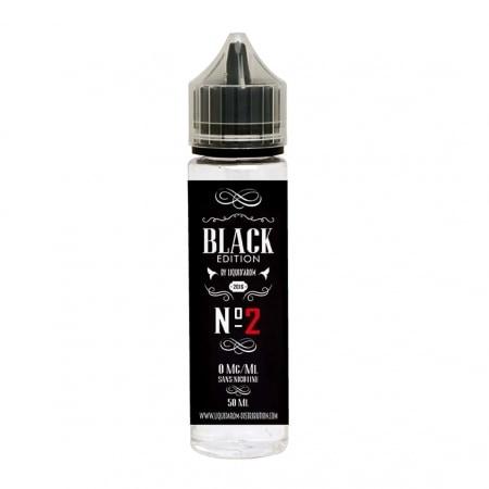 E liquide Black Edition n°2 0 mg 50 ml