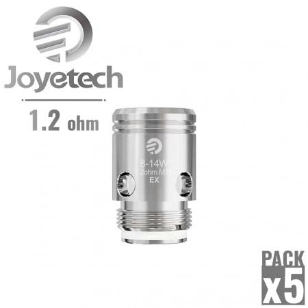 Résistance Joyetech EX 1.2 Ω pack de 5